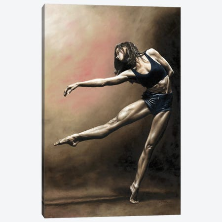 With Strength And Grace Canvas Print #RYO51} by Richard Young Canvas Wall Art