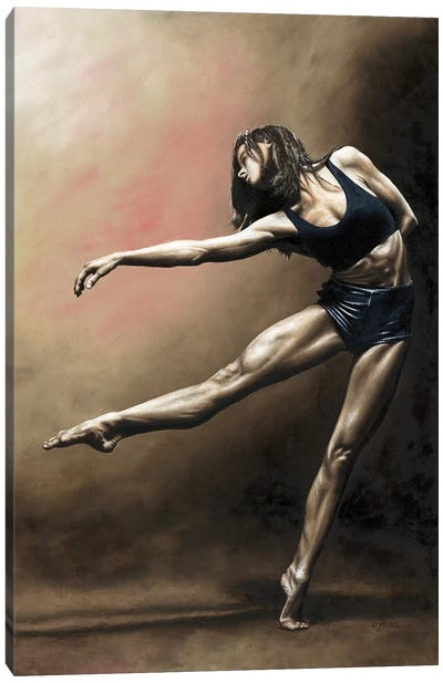 With Strength And Grace Canvas Art Print