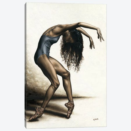 Dance Intensity Canvas Print #RYO59} by Richard Young Canvas Art
