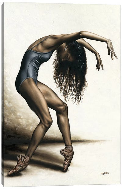 Dance Intensity Canvas Art Print