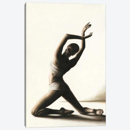 Devotion To Dance Canvas Print #RYO62} by Richard Young Canvas Art Print