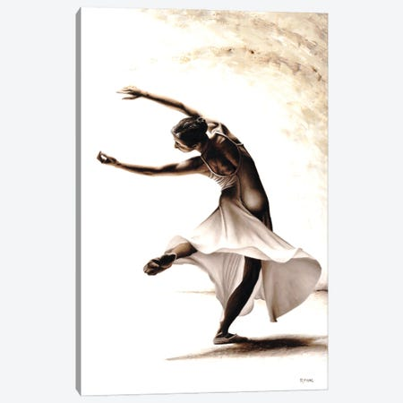 Eclectic Dancer Canvas Print #RYO65} by Richard Young Canvas Wall Art
