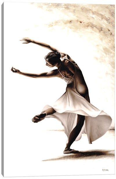 Eclectic Dancer Canvas Art Print