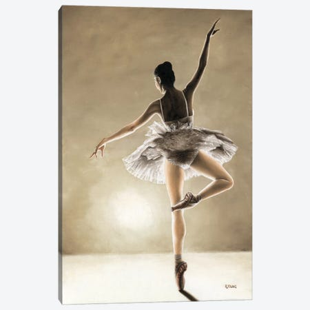 Dance Away Canvas Print #RYO6} by Richard Young Canvas Artwork