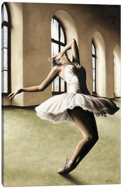 Halcyon Ballerina Canvas Art Print