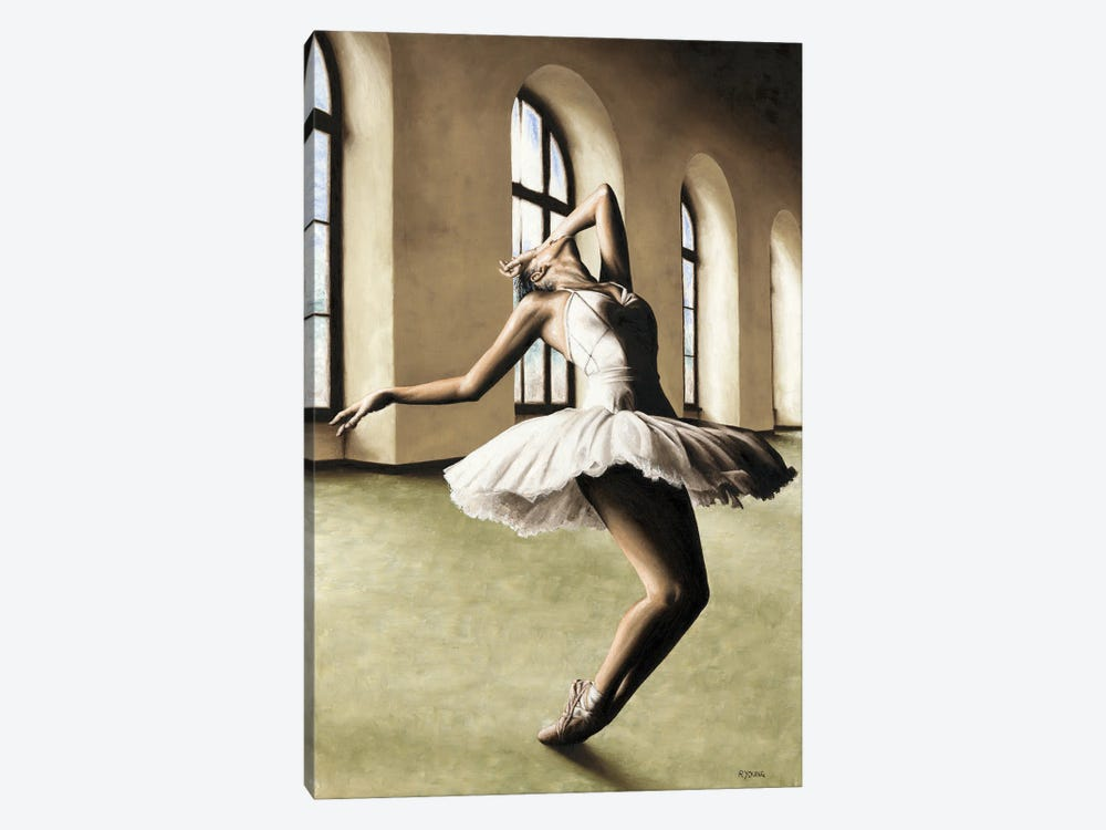 Halcyon Ballerina by Richard Young 1-piece Canvas Art Print