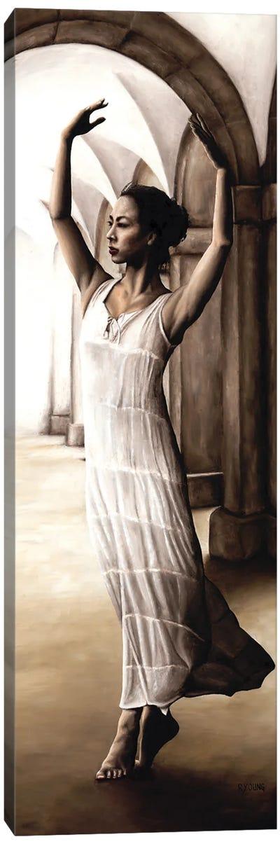 Heaven's Angel Canvas Art Print