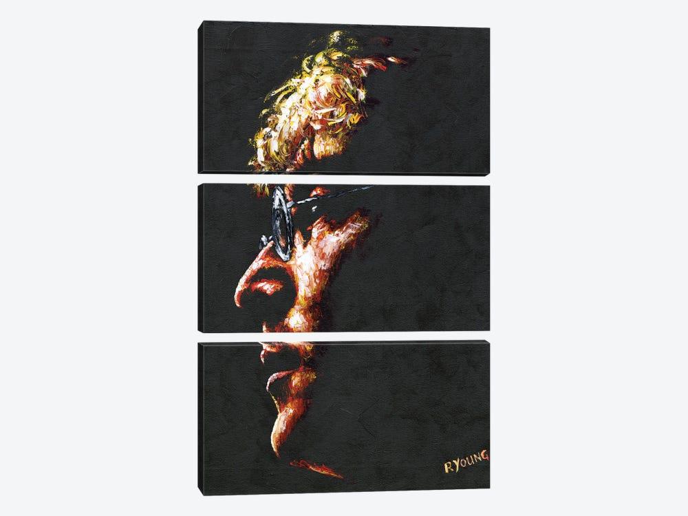 Imagine John Lennon by Richard Young 3-piece Canvas Art