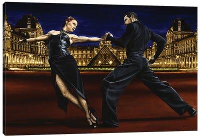 Last Tango In Paris Canvas Art Print