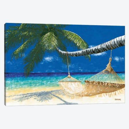 Life's A Beach I Canvas Print #RYO85} by Richard Young Canvas Wall Art