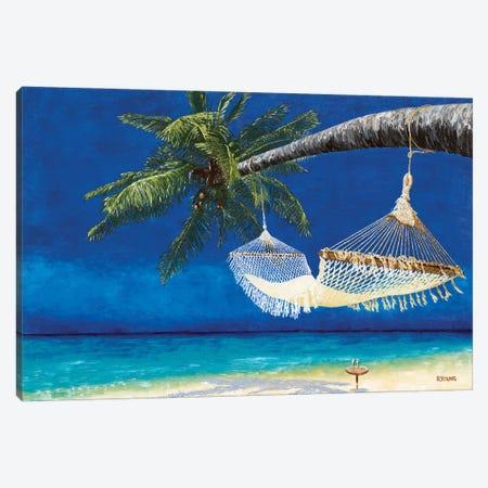 Life's A Beach II Canvas Print #RYO86} by Richard Young Canvas Wall Art
