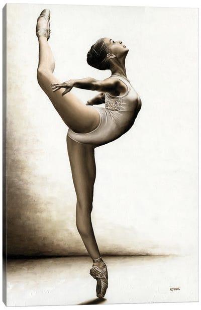 Musing Dancer Canvas Art Print