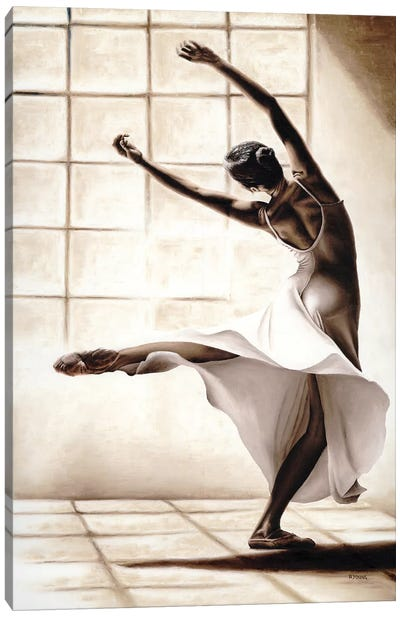 Dance Finesse Canvas Art Print