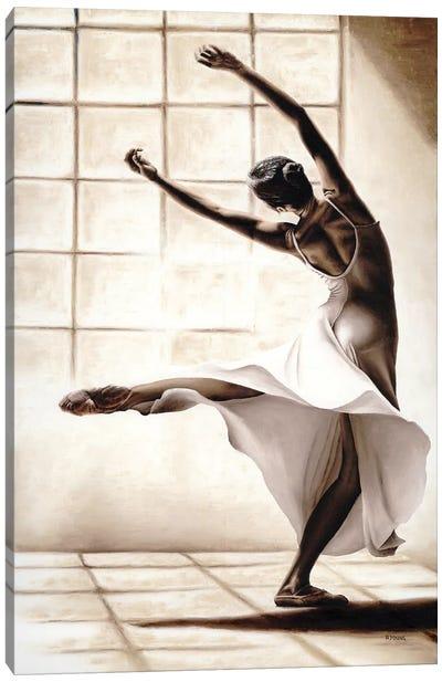 Dance Finesse Canvas Art Print