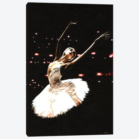 Prima Ballerina Canvas Print #RYO91} by Richard Young Canvas Art
