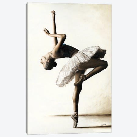 Reaching For Perfect Grace Canvas Print #RYO92} by Richard Young Canvas Wall Art
