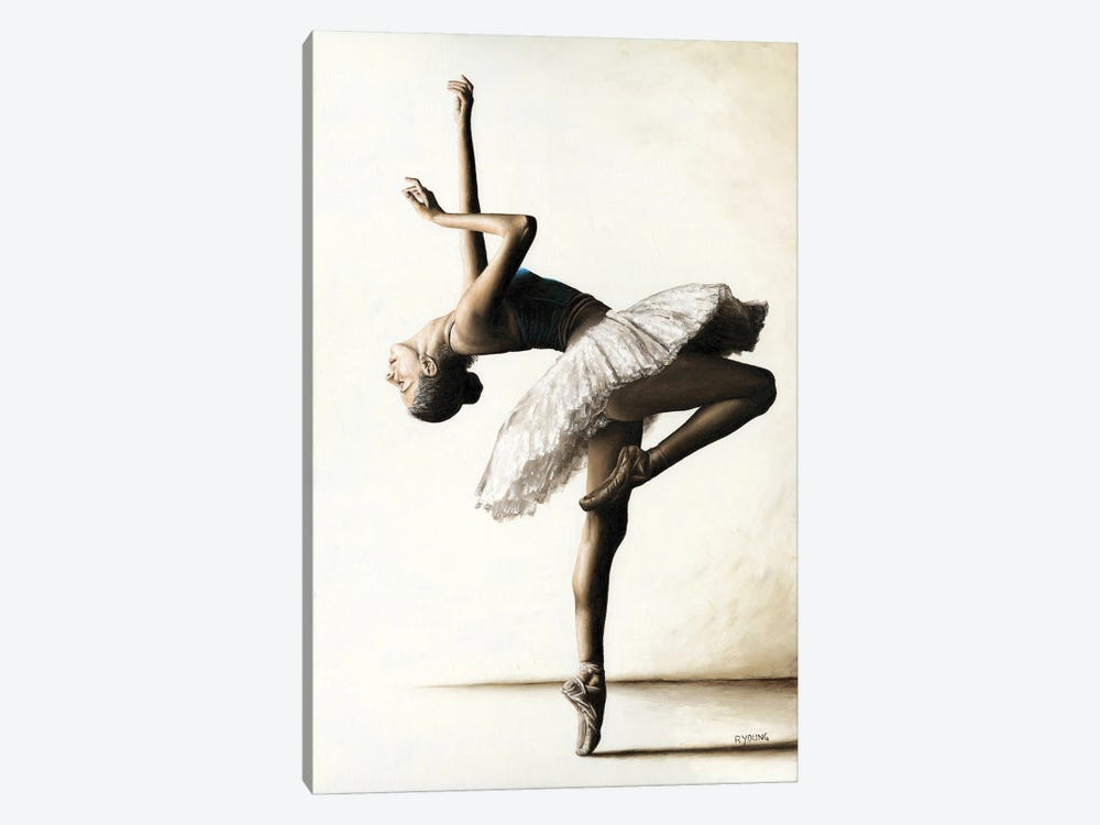 Reaching For Perfect Grace by Richard Young 1-piece Art Print