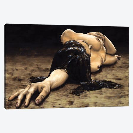 Reposal Canvas Print #RYO94} by Richard Young Art Print