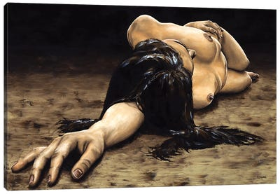 Reposal Canvas Art Print