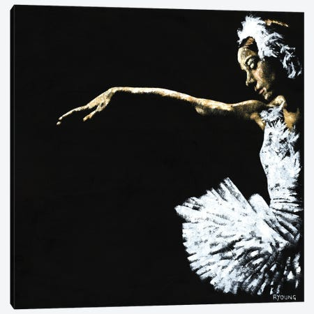 The Art Of Grace Canvas Print #RYO98} by Richard Young Canvas Artwork
