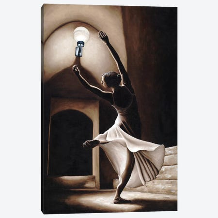 Dance Seclusion 3-Piece Canvas #RYO9} by Richard Young Canvas Art Print