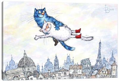 Almost Chagall Canvas Art Print