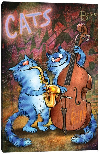 Jazz II Canvas Art Print