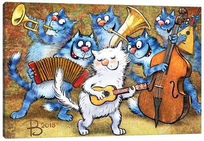 Jazz III Canvas Art Print