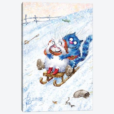 Drive Canvas Print #RZN21} by Rina Zeniuk Canvas Art