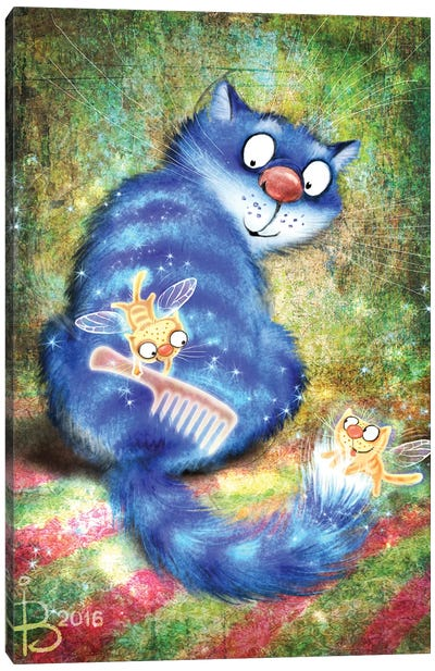 Сatfairies Of A Fluffy Tail Canvas Art Print