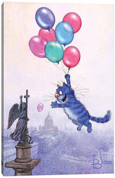 Baloons Canvas Art Print