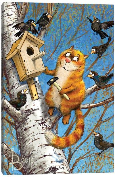 Bird Lover Canvas Art Print