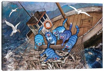 Fishing Season Canvas Art Print