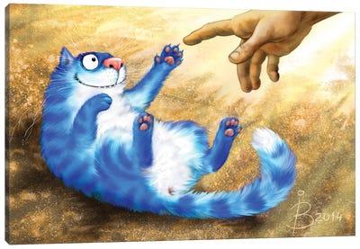 Creation Of Cats Canvas Art Print