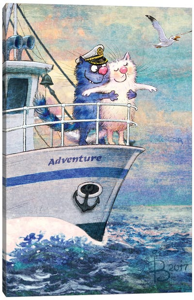Adventure Canvas Art Print