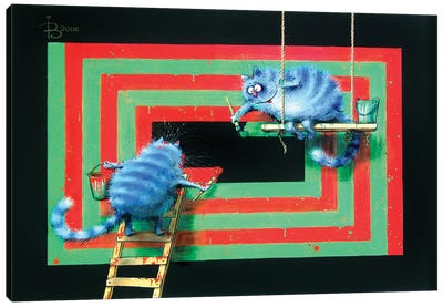 Supergraphics Canvas Art Print