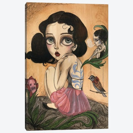 Faerie Canvas Print #SAC14} by Sandi Calistro Canvas Print