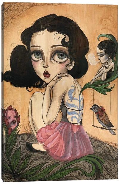 Faerie Canvas Art Print
