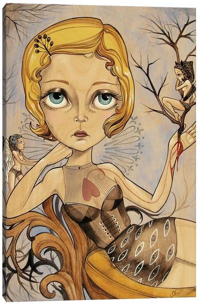 Lil Archer Canvas Art Print