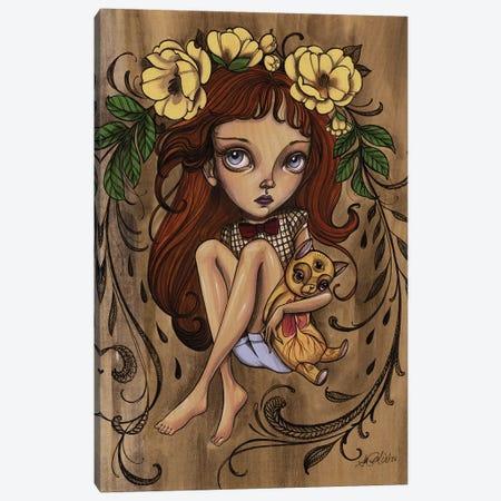 All Seeing Kiki Canvas Print #SAC2} by Sandi Calistro Canvas Artwork
