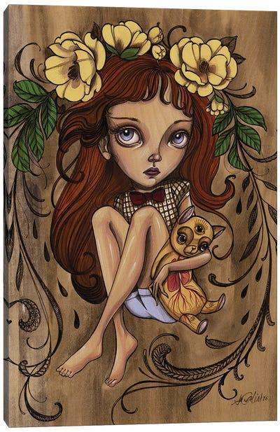 All Seeing Kiki Canvas Art Print