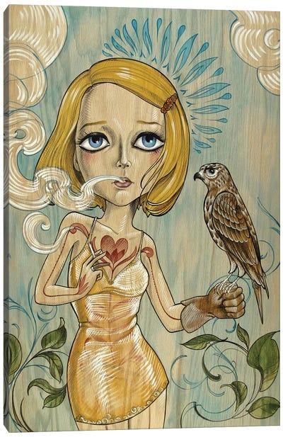 Margot & Mordecai Canvas Art Print
