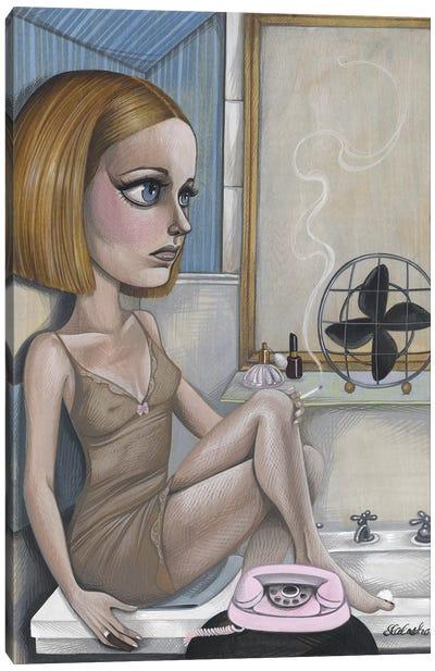 Margot Hides Canvas Art Print