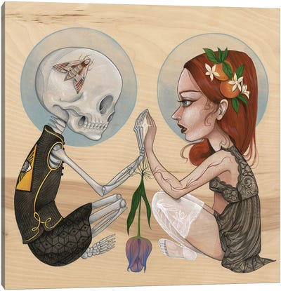 Mirror Canvas Art Print