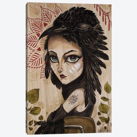 Raven Canvas Print #SAC41} by Sandi Calistro Canvas Art Print