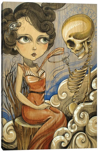 Soul Canvas Art Print