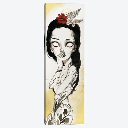 Sparrow Canvas Print #SAC49} by Sandi Calistro Canvas Art Print