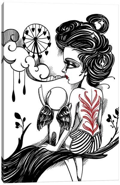 Speak Canvas Art Print