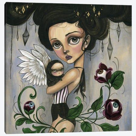The Garden Canvas Print #SAC53} by Sandi Calistro Canvas Artwork