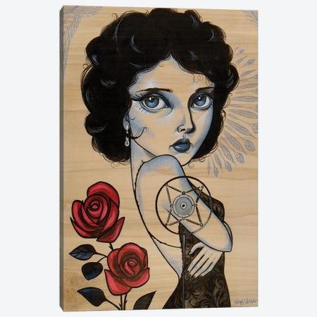 Blue Velvet Canvas Print #SAC7} by Sandi Calistro Art Print